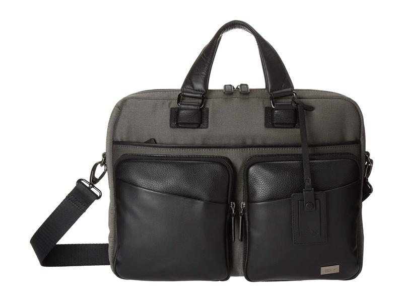 ブリックスミラノ メンズ ビジネス系 バッグ Monza Briefcase Grey/Black