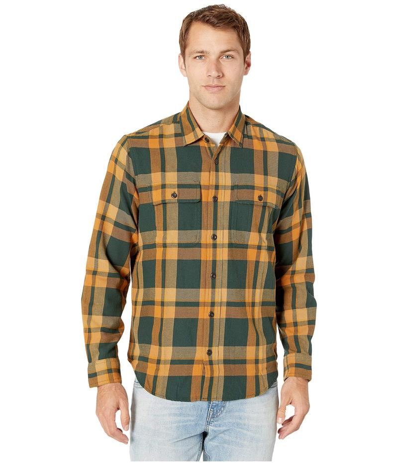 フィルソン メンズ シャツ トップス Scout Shirt Green/Gold