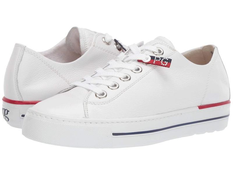 ポール・グリーン レディース スニーカー シューズ Cobb Flat White Leather