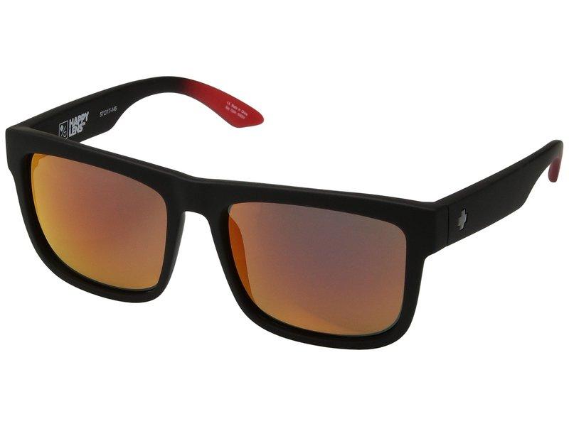 スパイオプティック メンズ サングラス・アイウェア アクセサリー Discord Soft Matte Black/Red Fade/HD Plus/Green/Red Light Spectr