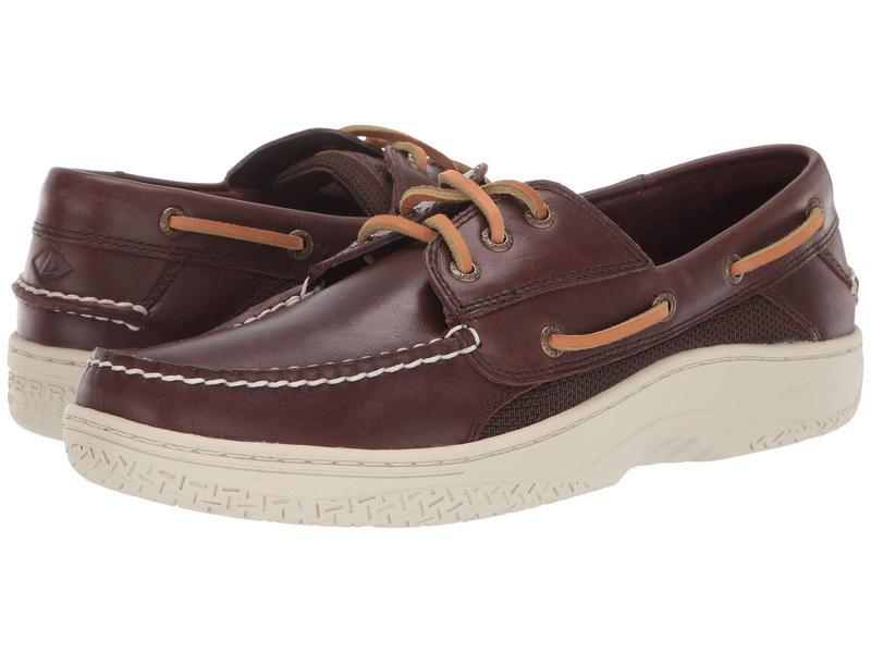 スペリー メンズ デッキシューズ シューズ Billfish 3-Eye Boat Shoe Classic Brown