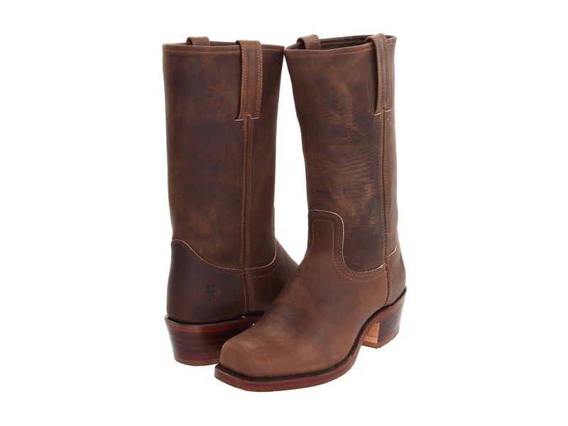 フライ メンズ ブーツ・レインブーツ シューズ Cavalry 12L Tan Leather