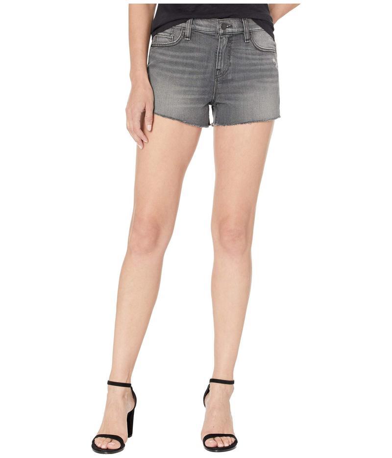 ハドソンジーンズ レディース ハーフパンツ・ショーツ ボトムス Gemma Mid-Rise Cut Off Jean Shorts in Don't Get Caught Don't Get Caught
