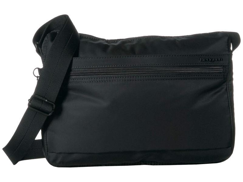 ヘドグレン レディース ハンドバッグ バッグ Eye RFID Medium Shoulder Bag Black