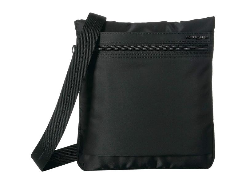 ヘドグレン レディース ハンドバッグ バッグ Leonce RFID Shoulder Bag Black