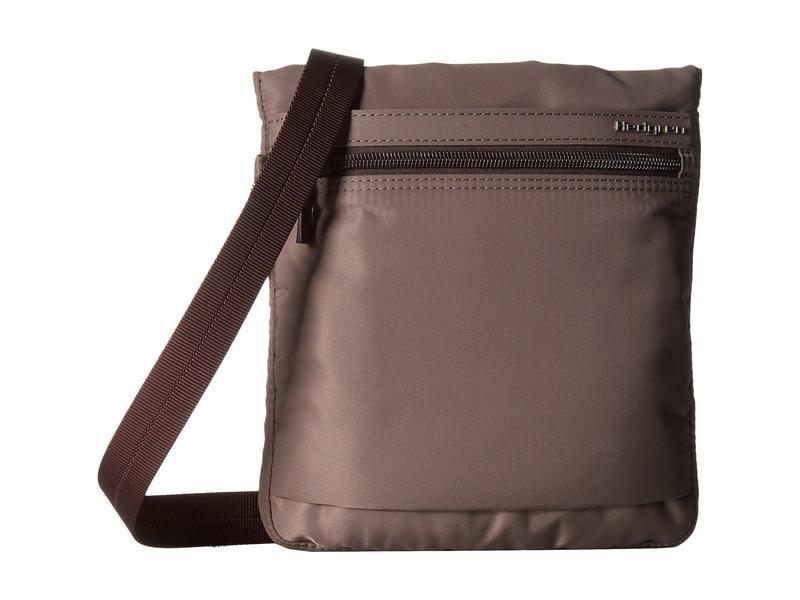ヘドグレン レディース ハンドバッグ バッグ Leonce RFID Shoulder Bag Sepia/Brown