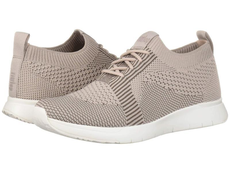 フィットフロップ レディース スニーカー シューズ Marble Knit Slip-On Sneaker Mink/Grey