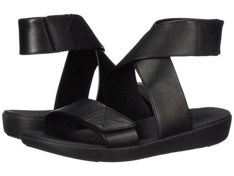 フィットフロップ レディース サンダル シューズ Carin Back-Strap Sandal All Black