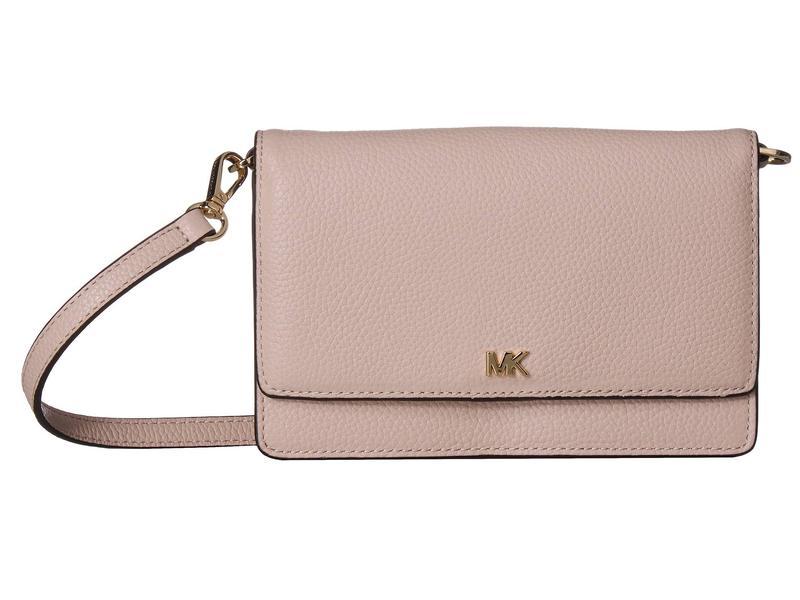 マイケルコース レディース ハンドバッグ バッグ Phone Crossbody Soft Pink