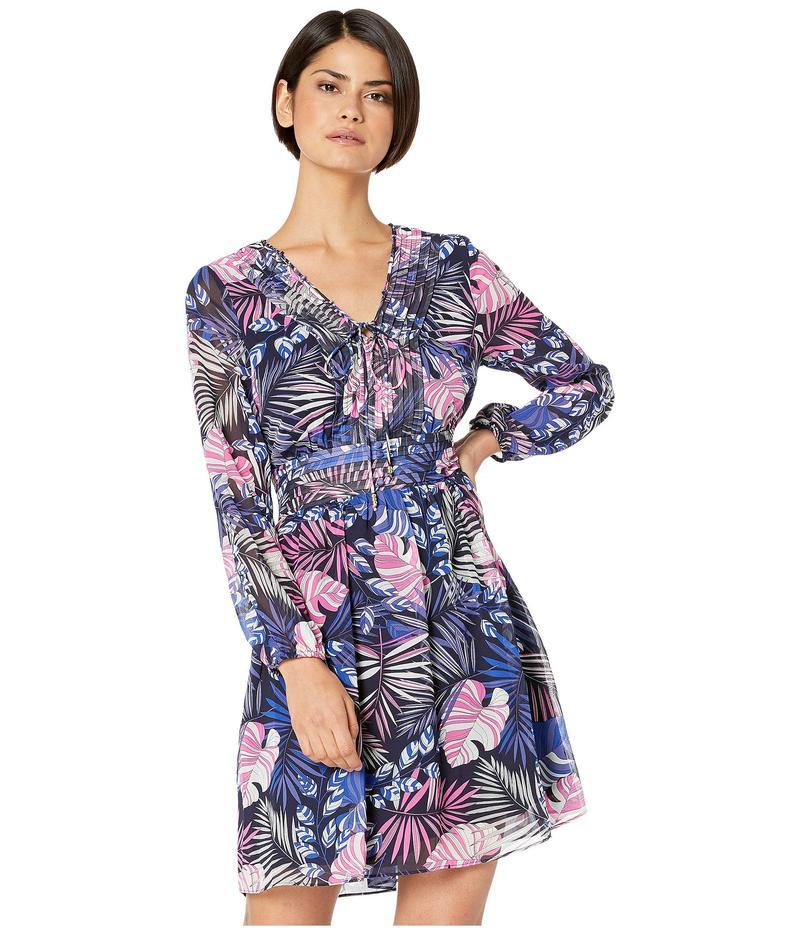 サムエデルマン レディース ワンピース トップス Tropical A-Line Dress Purple Multi