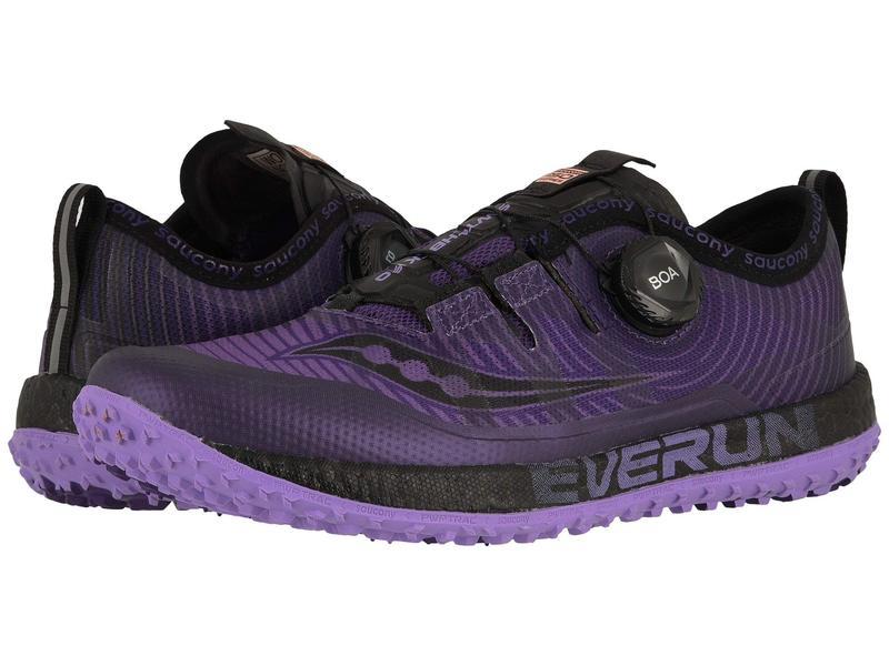 サッカニー レディース スニーカー シューズ Switchback ISO Purple/Black