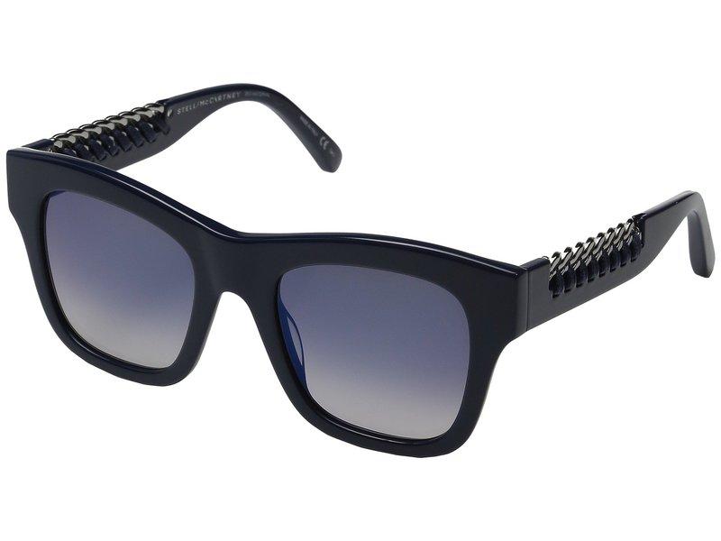 ステラマッカートニー レディース サングラス・アイウェア アクセサリー SC0011S Blue/Blue Gradient