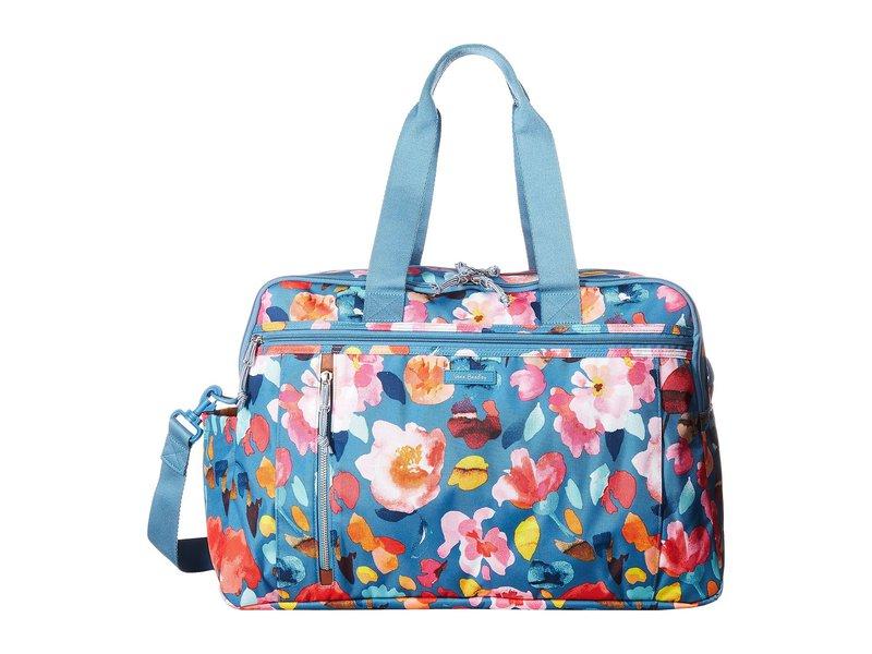 ベラブラッドリー レディース ボストンバッグ バッグ Lighten Up Weekender Travel Bag Scattered Superbloom
