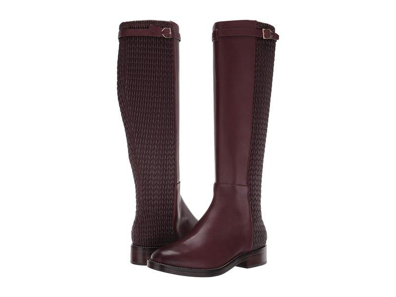 コールハーン レディース ブーツ・レインブーツ シューズ Lexi Grand Stretch Strap Boot Cordovan Leather