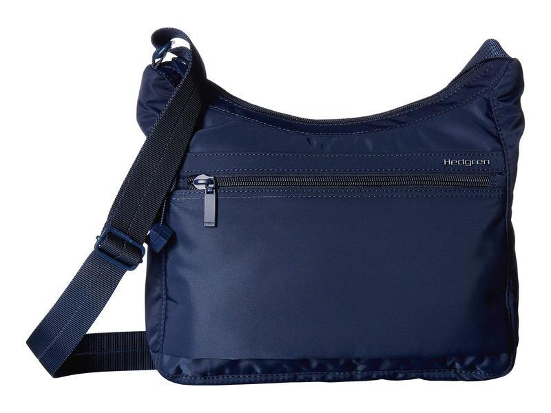 ヘドグレン レディース ハンドバッグ バッグ Harper's Small RFID Shoulder Bag Dress Blue