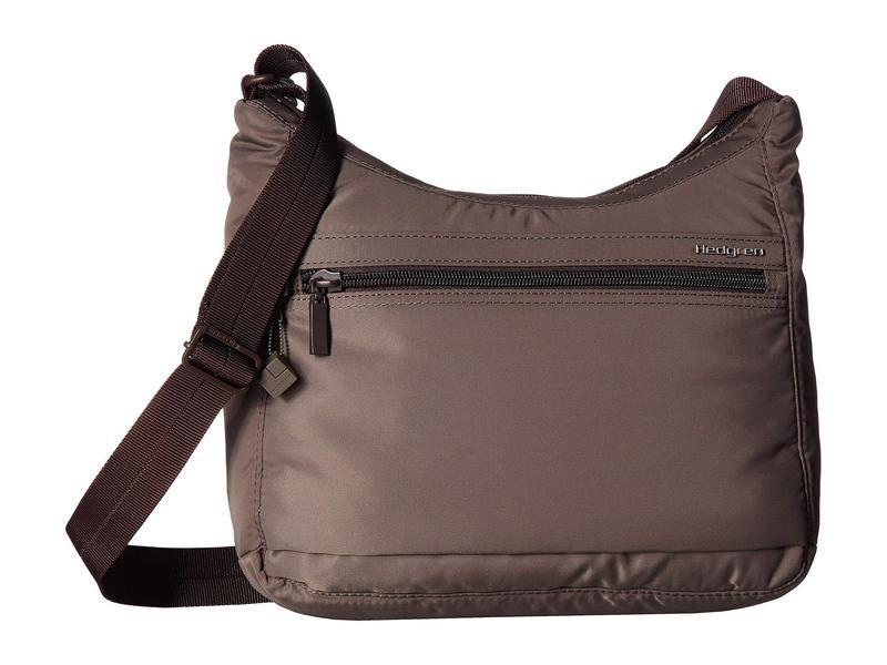 ヘドグレン レディース ハンドバッグ バッグ Harper's Small RFID Shoulder Bag Sepia/Brown