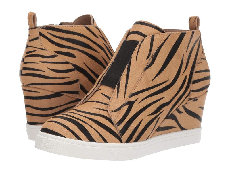 リネアパウロ レディース スニーカー シューズ Felicia 3 Sand/Black Zebra Print Haircalf