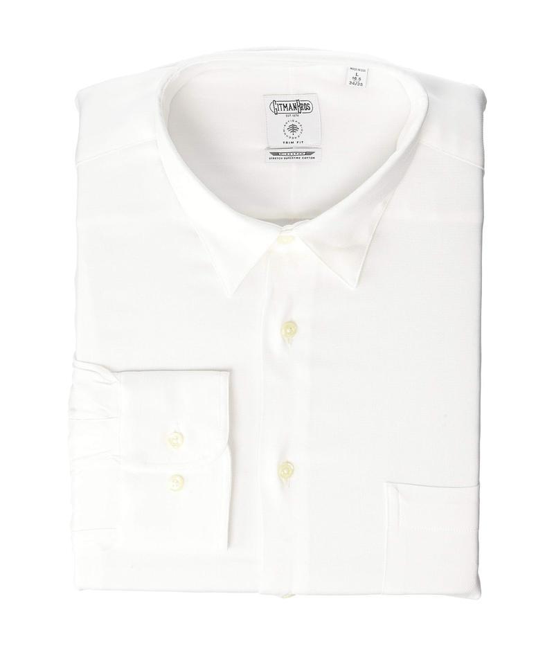アレン エドモンズ メンズ シャツ トップス Gitman Bros Shirt White