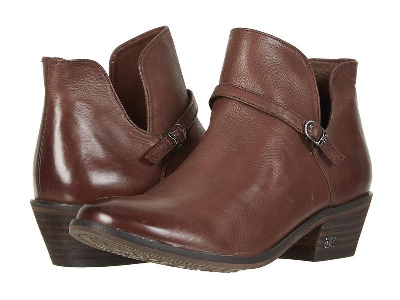 サムエデルマン レディース ブーツ・レインブーツ シューズ Palmer Dark Mahogany Veg Calf Leather