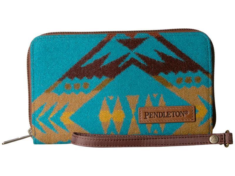 ペンドルトン レディース 財布 アクセサリー Smart Phone Wallet Diamond Peak/Turquoise