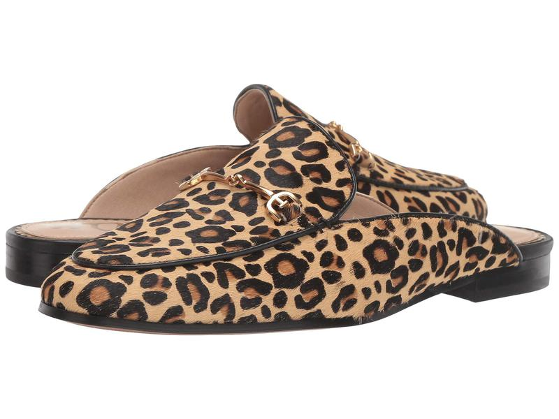 サムエデルマン レディース スリッポン・ローファー シューズ Linnie New Nude Baby Leopard Brahma Hair