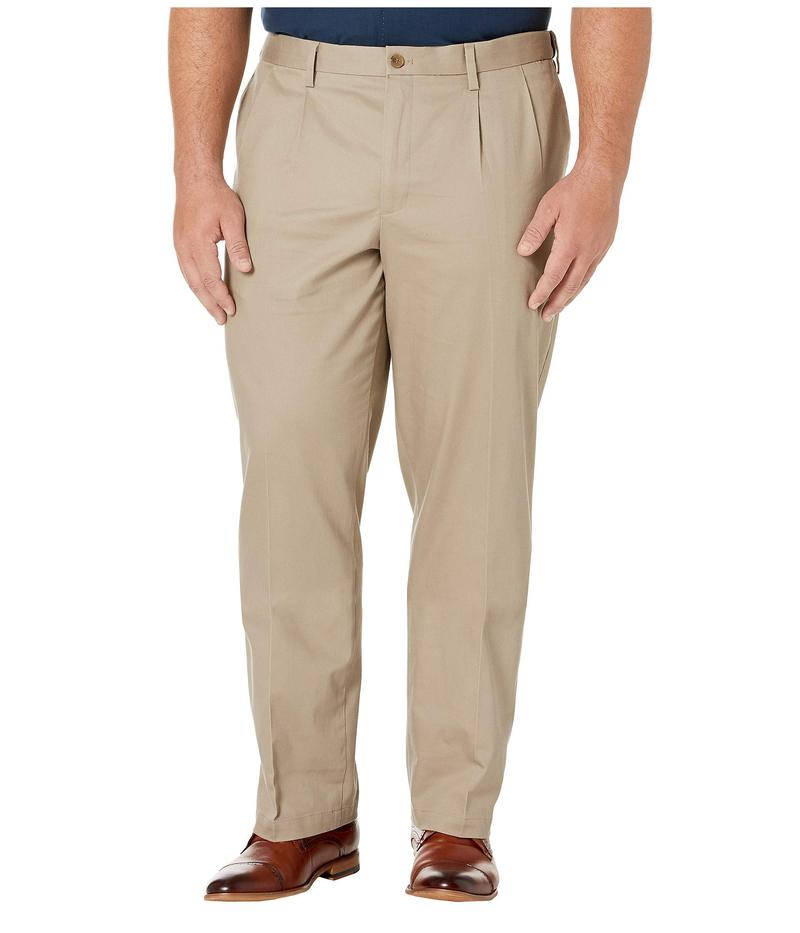 ドッカーズ メンズ カジュアルパンツ ボトムス Big & Tall Classic Fit Signature Khaki Lux Cotton Stretch Pants - Pleated Timber Wolf