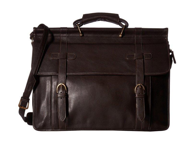 スカーリー メンズ ビジネス系 バッグ Bradley Overnight Workbag Dark Brown