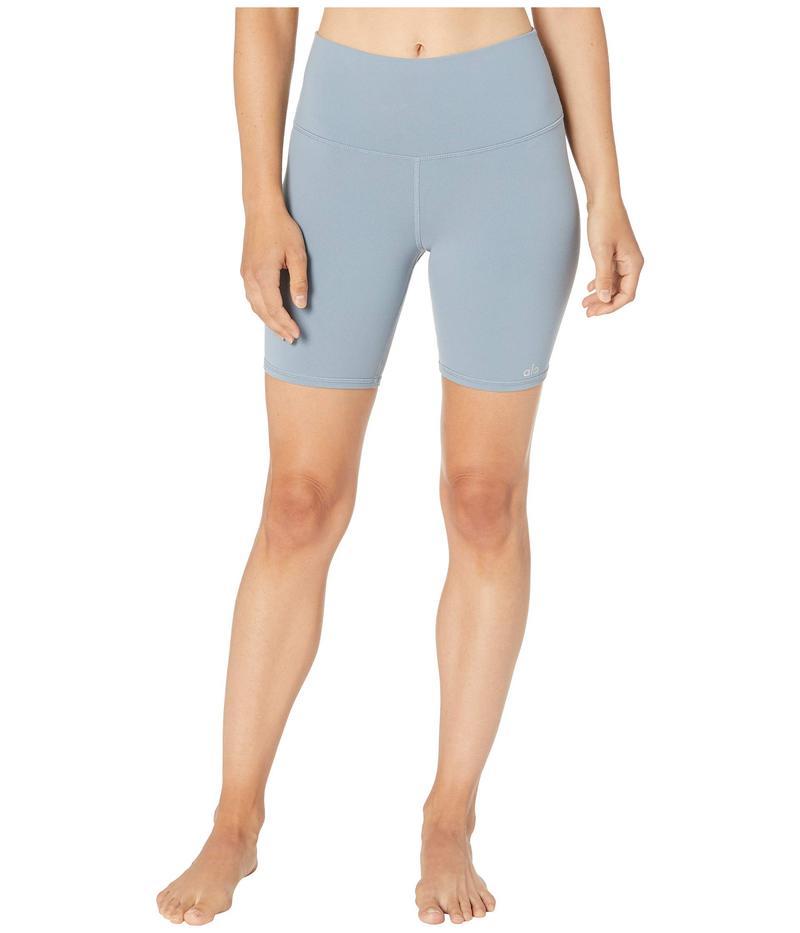アロー レディース ハーフパンツ・ショーツ ボトムス High-Waisted Biker Shorts Blue Haze