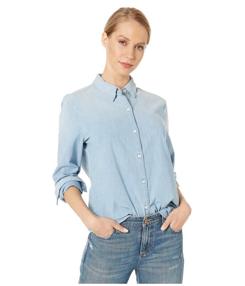 エージー アドリアーノゴールドシュミット レディース シャツ トップス Cade Shirt Azure Light