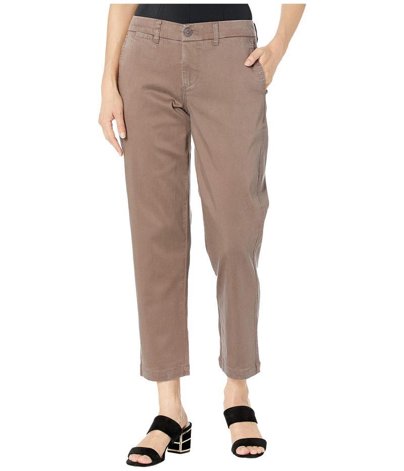 リバプール レディース カジュアルパンツ ボトムス Bobbie Trousers w/ Slash Pockets Chocolate Chip