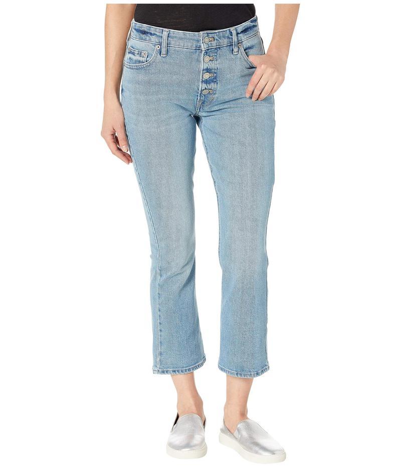 ラッキーブランド レディース デニムパンツ ボトムス Bridgette Crop Mini Boot Jeans in Sahalee Sahalee