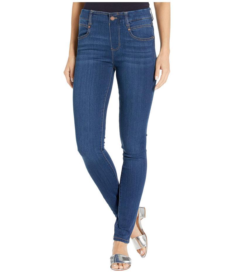 リバプール レディース デニムパンツ ボトムス Gia Glider/Revolutionary Pull-On Jeans Elysian Dark