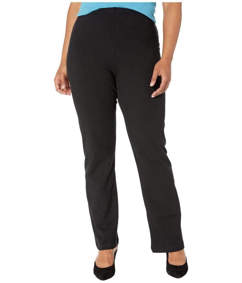 リジー レディース カジュアルパンツ ボトムス Plus Size Tara Bootcut Cotton Leggings Black
