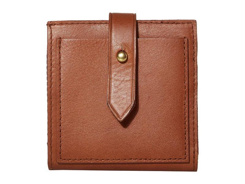 メイドウェル レディース 財布 アクセサリー Bifold Post Wallet English Saddle