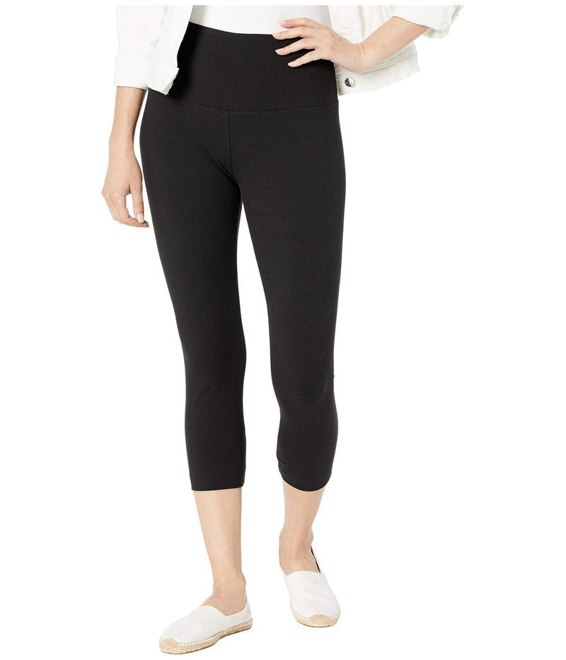 リジー レディース カジュアルパンツ ボトムス Cropped Cotton Leggings Black