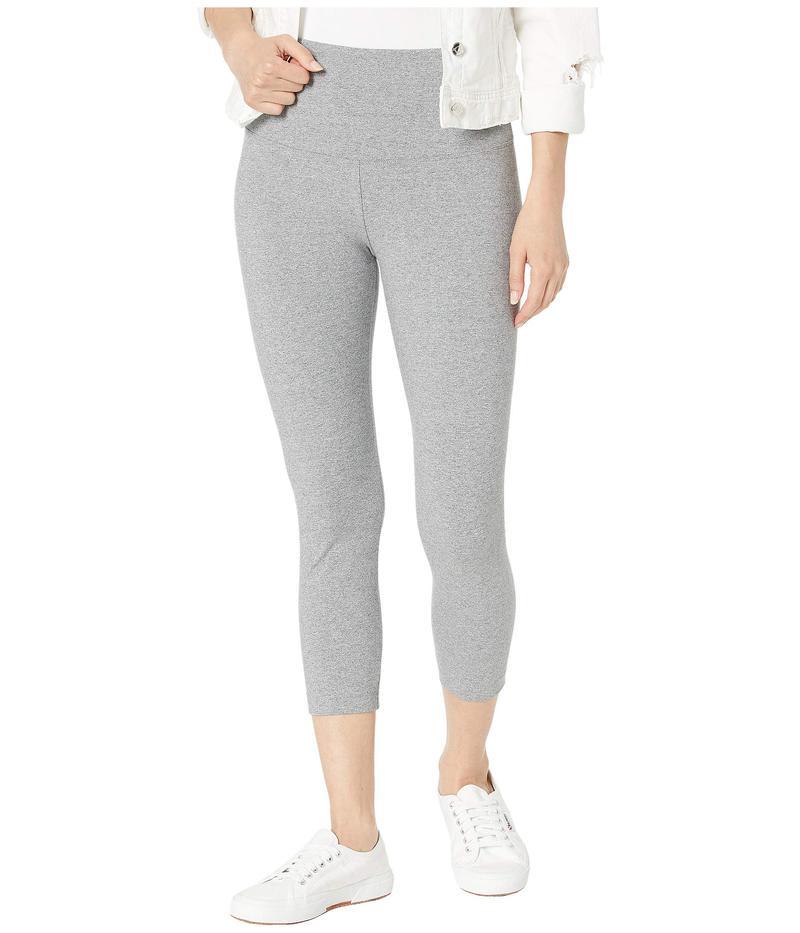 リジー レディース カジュアルパンツ ボトムス Cropped Cotton Leggings Grey Melange