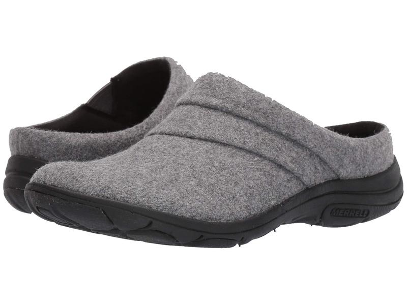 メレル レディース サンダル シューズ Dassie Stitch Slide Wool Charcoal