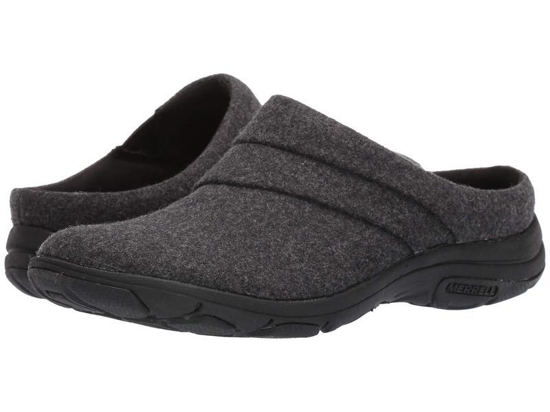 メレル レディース サンダル シューズ Dassie Stitch Slide Wool Black