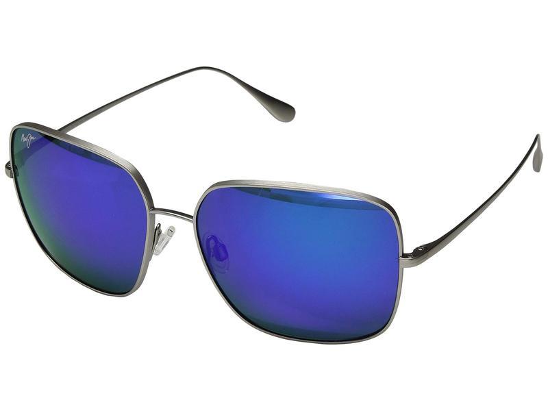 マウイジム レディース サングラス・アイウェア アクセサリー Triton Titanium/Blue Hawaii