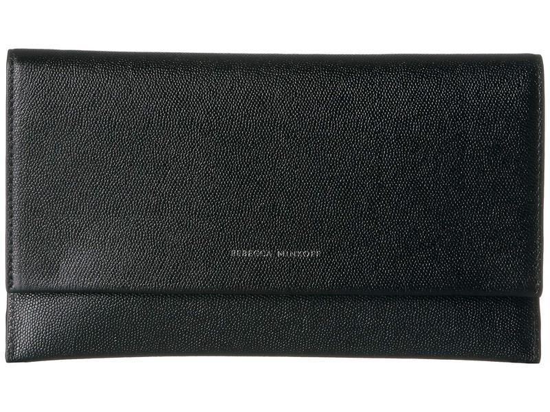 レベッカミンコフ レディース ハンドバッグ バッグ Wallet Clutch Black