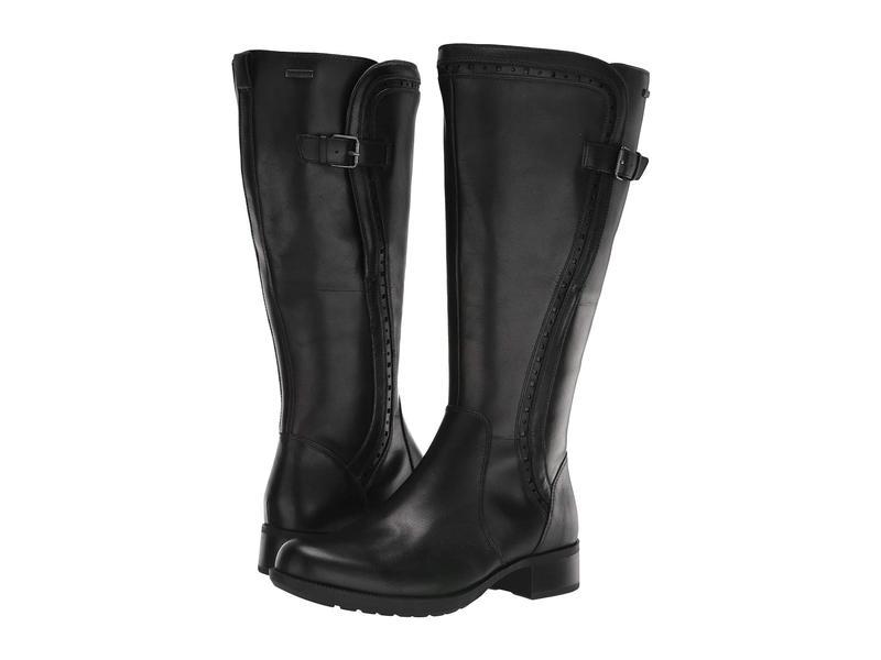 ロックポート レディース ブーツ・レインブーツ シューズ Copley Tall Boot Wide Calf Black