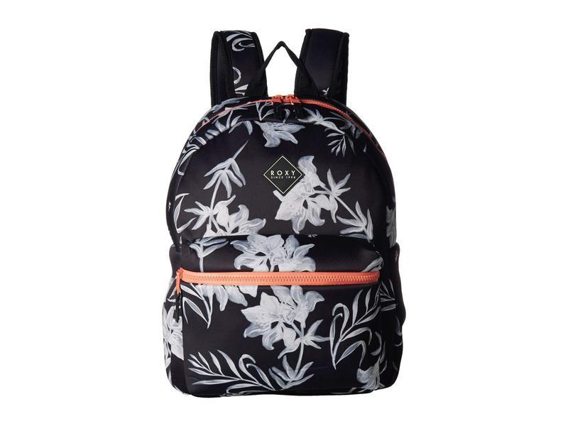 ロキシー レディース バックパック・リュックサック バッグ Infinite Ocean Backpack True Black Full Bicolys