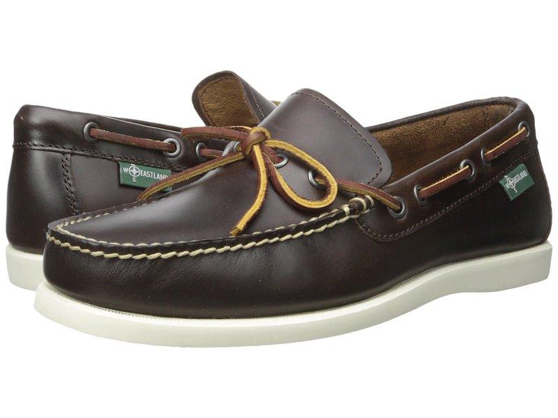 イーストランド メンズ デッキシューズ シューズ Yarmouth 1955 Brown Leather