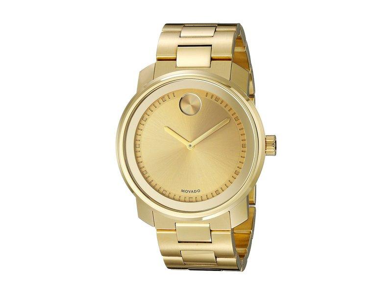 モバド メンズ 腕時計 アクセサリー Bold - 3600258 Ionic Gold Plated Steel