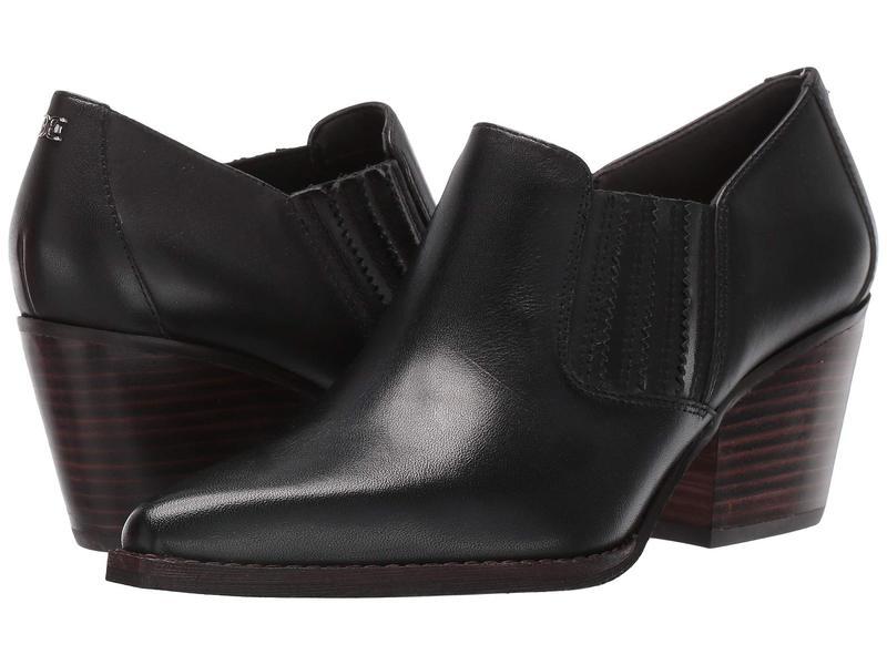 サムエデルマン レディース ヒール シューズ Walton Black Vaquero Saddle Leather