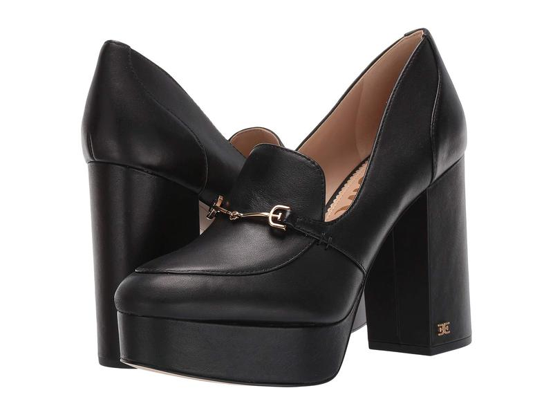 サムエデルマン レディース ヒール シューズ Aretha Black Modena Calf Leather