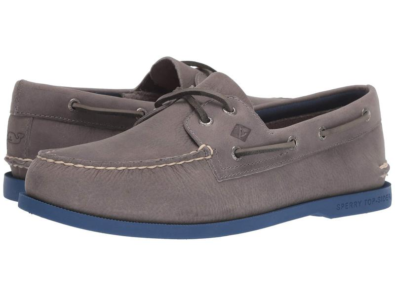 スペリー メンズ デッキシューズ シューズ Authentic Originals 2-Eye vineyard vines Plush Grey/Blue