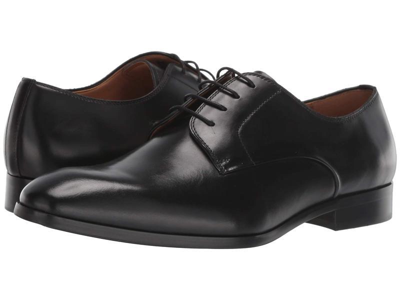 スティーブ マデン メンズ オックスフォード シューズ Parsens Black Leather