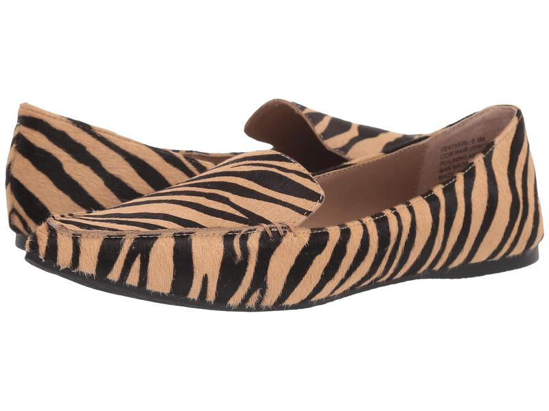 スティーブ マデン レディース サンダル シューズ Feather Loafer Flat Tiger