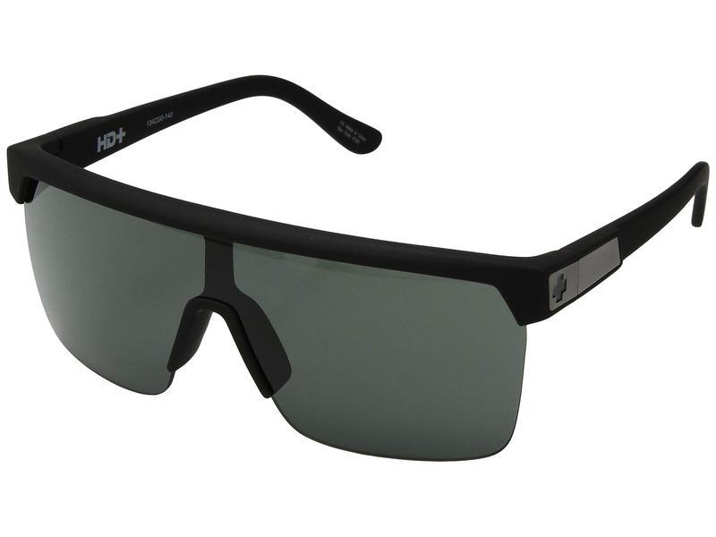 スパイオプティック メンズ サングラス・アイウェア アクセサリー Flynn 5050 Soft Matte Black/HD Plus Gray Green